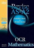 Ocr As and A2 Maths: Study Guide