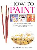 How To Paint A Complete Step By Step Guide for Beginners Covering Watercolours Acrylics & Oils