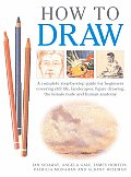 How to Draw A Complete Step By Step Guide for Beginners Covering Still Life Landscapes Figure Drawing the Female Nude & Human Anatomy