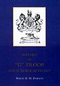 Story of G Troop, Royal Horse Artillery