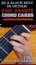 50 Guitar Flash Cards: Kids' Karate Chord Cards