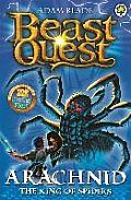 Beast Quest Th e Golden Armour11 Arachnid the King of Spiders