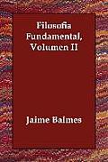 Filosofia Fundamental, Volumen II