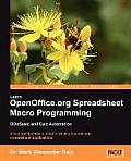 Learn OpenOffice.org Spreadsheet Macro Programming