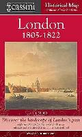 Cassini Historical Map, London 1805-1822 (Lon-ose): Discover the Landscape of London's Past