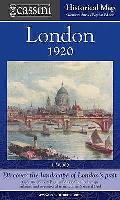 Cassini Historical Map, London 1919-1922 (Lon-pop): Discover the Landscape of London's Past