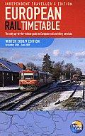 European Rail Timetable Winter Spring 2009