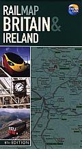 Rail Map Britain & Ireland 6th Edition