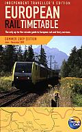 European Rail Timetable Summer 2009