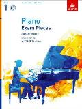 Piano Exam Pieces 2013 & 2014, Abrsm Grade 1, With CD: Selected From the 2013 & 2014 Syllabus