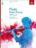 Flute Exam Pieces 20142017, Grade 4 Part: Selected From the 20142017 Syllabus