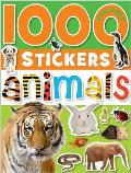 1000 Stickers Animals