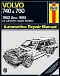 Volvo 740 & 760 Series Repair Manual 1982 1988 All Gasoline Engine Models