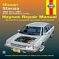 Nissan Datsun Stanza Repair Manual 1982 1990 Sedan & Hatchback Models