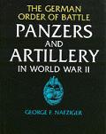 German Order Of Battle Panzers & Artil