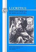 Lucretius: Selections from the de Rerum Natura