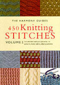Harmony Guides 450 Knitting Stitches Volume 2