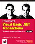 Professional Vb.net Transactions