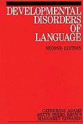 Developmental Disorders of Language