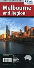 Melbourne & Region Handy Map