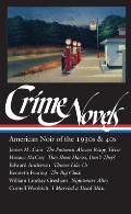 Crime Novels of the 30s & 40s American Noir
