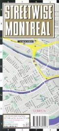 Streetwise Montreal Map