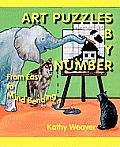 Art Puzzles by Number: From Easy to Mind Bending