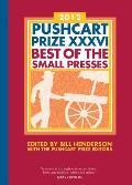 Pushcart Prize XXXVI