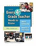 What Every 4th Grade Teacher Needs to Know About Setting Up & Running a Classroom