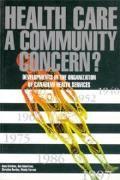Health Care: A Community Concern?