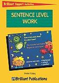 Sentence Level Work (Brilliant Support Activities)