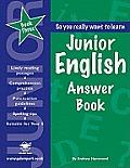 Junior Englishanswer Book Book 3