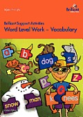 Word Level Work - Vocabulary (Brilliant Support Activities)