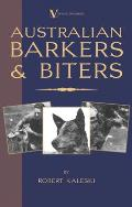 Australian Barkers & Biters a Vintage Dog Books Breed Classic Australian Cattle Dog