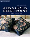 Arts & Crafts Needlepoint 25 Patterns & Projects