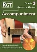 Acoustic Guitar Accompaniment Rgt Grade Three