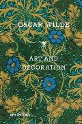 Art & Decoration Being Extracts from Reviews & Miscellanies