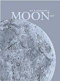 Sky & Telescopes Moon Map Laminated
