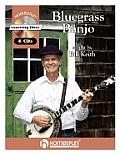 Bluegrass Banjo with 4 CDs