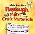 Make Your Own Playdough Paint & Other Craft Materials Easy Recipes to Use with Young Children