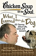 Chicken Soup for the Soul What I Learned from the Dog 101 Stories of Canine Life Love & Lessons