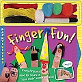 Finger Fun [With Thread, Poms and 2 Washable Markers]