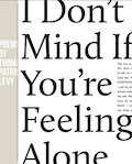 I Dont Mind If Youre Feeling Alone