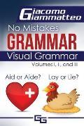 Visual Grammar: No Mistakes Grammar, Volumes I, II, and III