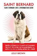 Saint Bernard: Saint Bernard Characteristics, Personality and Temperament, Diet, Health, Where to Buy, Cost, Rescue and Adoption, Car