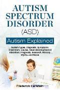 Autism Spectrum Disorder (ASD): Autism Types, Diagnosis, Symptoms, Treatment, Causes, Neurodevelopmental Disorders, Prognosis, Research, History, Myth