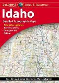 Idaho: Detailed Topographic Maps: Delorme Atlas and Gazetteer
