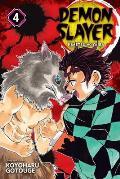 Demon Slayer Kimetsu no Yaiba Volume 4