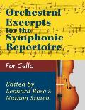 Orchestral Excerpts Volume 1 Cello edited by Leonard Rose and Nathan Stutch