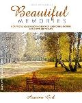 A Grayscale Adult Coloring Book of Landscapes, Flowers and Nostalgic Dreams: Beautiful Memories: Autumn Girl. Black and White Edition.